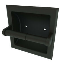 Brasstech Recessed Tissue Holder with Roller & Cover 10-89/07 English Bronze NEW