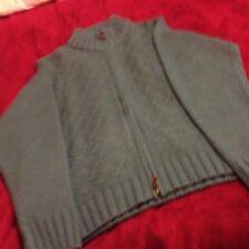Lagoon Coloured Zipped Cardigan Size 18/20