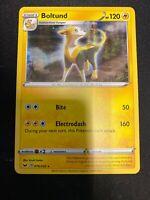 Pokémon - Boltund 76/202 - Holo Rare, Sword & Shield, NM/M