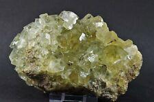 Fluorit,Siderit,Kupferkies aus Freiberg/Erzgebirge