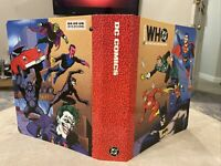 Vintage Who's Who in the DC Universe Loose Leaf Binder Vintage Original Comics