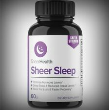 All Natural Maximum Strength Sleep Aid Melatonin GABA Valerian Ginkgo Lemon Balm