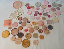 LOT of compact repair & replacement parts...puffs, screens, powder/rouge plates