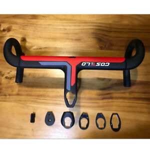 Costelo Integrated Bar T800 UD Carbon fiber road bike bicycle Handlebar 42x100