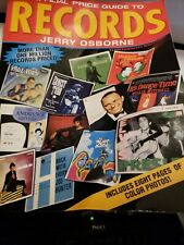 Book Official Price Guide To Records Jerry Osborne House of Collectibles C-6