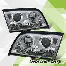 1994-2000 Mercedes-Benz W202 C-Class 4DR Sedan Chrome Projector Headlights