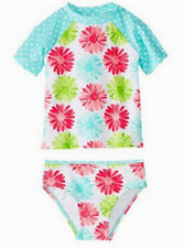 80% OFF! AUTH LITTLE ME FLORAL 2-PC RASHGUARD SWIMWEAR 24 MONTHS SRP US$29.50+