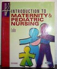 Introduction to Maternity & Pediatric Nursing Gloria Leifer 2002 Paperback Book