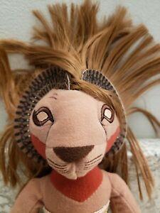 "Disney's The Lion King Broadway Musical SIMBA 10"" Plush Toy"