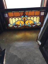 Sg 765 Antique Transom Window 21 And Three-Quarter Inch By 41 1/2 Inch