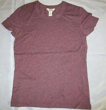 Abercrombie Junior  Cap Sleeve T-Shirt Burgundy Sz Medium