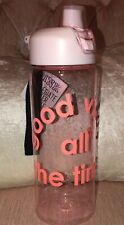 """Victoria's Secret Collegiate Water Bottle """"Good Vibes all the Time"""" 32 oz NWT"""