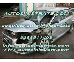 ACQUISTO AUTO INCIDENTATE ALLUVIONATE SINISTRATE