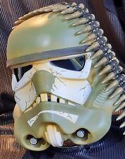 Stormtrooper helmet 1.1 scale prop replica custom paint scheme