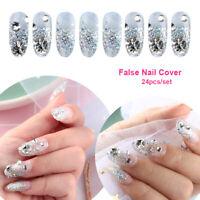 Nail Tool Nail Art Decoration Crystal Diamond False Nail Cover French Nails