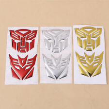 3D Autobot Transformers Decepticon Decal Car Sticker Car Decoration PVC Material