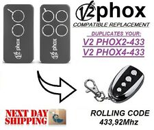 Phox2 V2, Phox4 V2 compatible Remote control transmitter Replacement, clone
