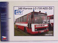 SDV Kunststoff Modellbausatz 1:87 H0 Bus KAROSA LC-735 HZS CD Feuerwehr