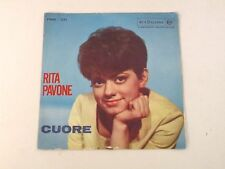 """RITA PAVONE - CUORE / IL BALLO DEL MATTONE - 7"""" RCA ITALIANA 1963 EX++/VG+ Q3"""