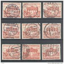 Berlin, 1949 3DM (9 copies) fine used, cat E180 (D)