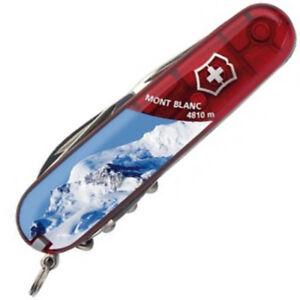 Victorinox - Couteau Suisse Spartan Rubis Mont Blanc 12 Fonctions - 1.3603.TE26