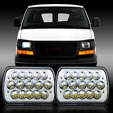 7x6 LED Headlight Sealed Beam Headlamp Chevy Express Cargo Van 1500 2500 3500