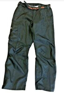 Black Grundens Weather Watch Size Medium Waterproof Sport Fishing Rain Pants