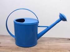 Robuste Gießkanne Metall blau für 2 Liter Kanne Deko-Kanne Gartenkanne