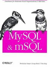 MySql and mSql by George Reese 1565924347 978-1565924345
