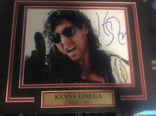 Bullet Club Kenny Omega 11X14 Matted Namplate PHOTO AUTOGRAPH