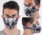 Latest Uniquely Designed Haloween Style Gym Running Sports Unisex Face Mask