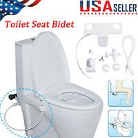 Bidet Attachment Toilet Seat Self-Cleaning Nozzle-Water Bidet Sprayer Device USA