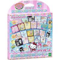 Epoch Aqua Beads Sanrio Characters Illustration Sheet Set AQ-285