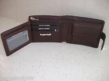 Pierre Cardin Italian Leather Billfold Mens Wallet (pc8874) Brown