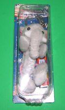 PEZ Party Animals REPUBLICAN Elephant Key Chain Dispenser NIB