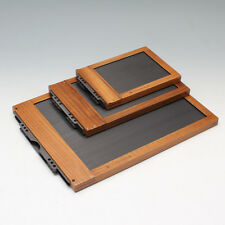 Chamonix wet plate holders , from 8x10 to 24x32in