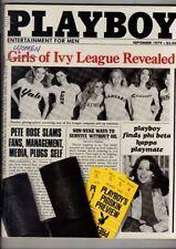September Playboy Monthly Magazines