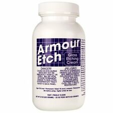 Armour Etch Cream - Glass Etching Cream Decorate Glass or Mirrors 22 oz