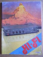 CATALOGO HI FI Radio Amplificatori ecc.. GBC Italiana anno 1976  RARO!!  [GS50]