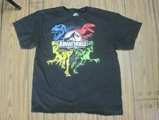 BUY 1 GET 1 50/% OFF JURASSIC PARK WORLD FALLEN KINGDOM T-Shirt Boys Sz 4-12 $16