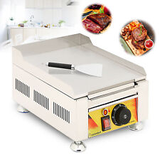 Portable Gas Flat Top Grill Outdoor Kitchen Griddle Breakfast Bbq Cooking
