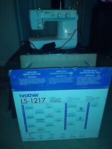 Brother LS-1217 Mechanical Sewing Machine--free arm