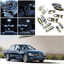 18×white Interior LED Light Kit for BMW 3 Series F30 320i 328d 328i 335i 12-15
