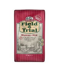 2 x 15kg skinners field and trial museli mix complete fussy dog food only £18.25