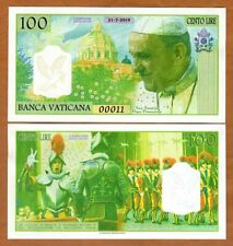 Vatican, 100 Lire, 2019, Private Issue Kamberra, UNC > Pope Francis, Swiss Guard