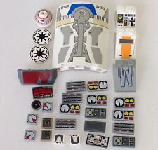 LEGO STAR WARS Space Ship fighter lot part piece cockpit panel slope decorated