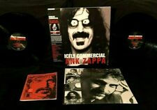 FRANK ZAPPA STRICTLY COMMERCIAL 2 LP OBI SIGNED BY 6 BAND MEMBERS INSERT + PROOF
