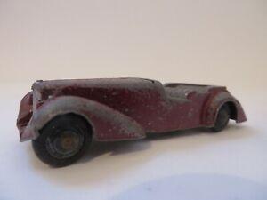 Dinky Toys No.38d Alvis Sports Tourer RARE!! Vintage England Diecast 1940's