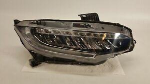 2016 2017 2018 2019 Honda Civic Touring Right Passenger Full LED Headlight OEM