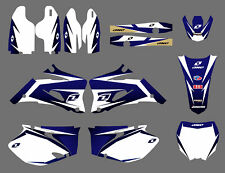 Team Graphics & Backgrounds Decals For Yamaha YZ250F YZ450F YZF 2006 07 08 2009